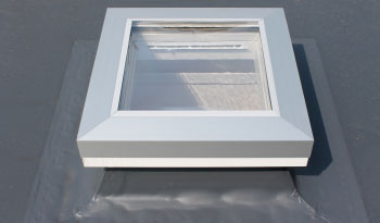 Ultra Roof Light with stylish high security perimeter trim