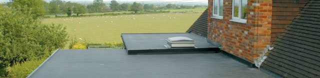 RubberBond EPDM Flat Roofing from Roof Technology